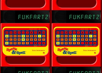 Speak & Spell: Angry Video Game Nerd edition