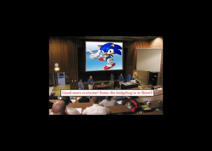 Sonic in Brawl (The worlds reaction)