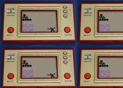 Halo Game & Watch