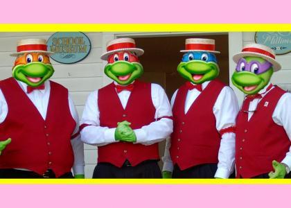 TMNT Barbershop Quartet