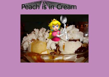 Peach is in Cream