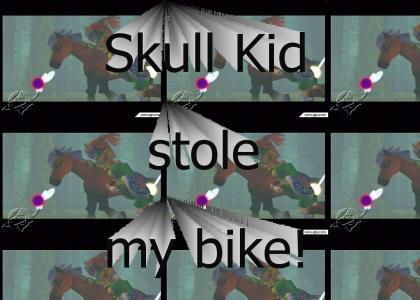 Skull Kid stole my bike!