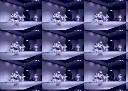 QRIO Robot Rave