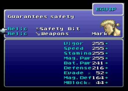 Final Fantasy 6 - Safety Guaranteed!?