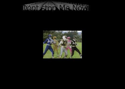 Don't Stop Red Ranger now!