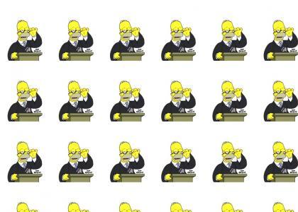 Homer Tells It Like It Is