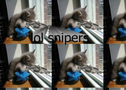 SNIPER KITTY!