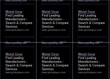 I guess every dot com DOES have Metal Gear!