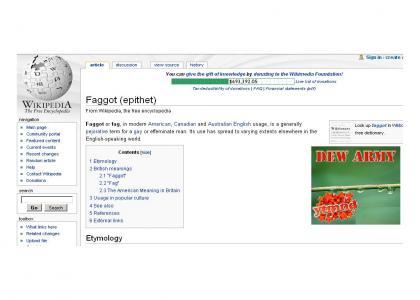 Faggory Daggory Dew Boys