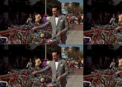 Nigga Stole Pee Wee's Bike!