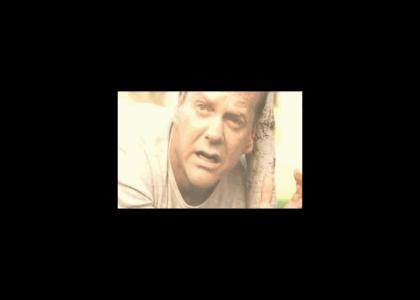 Jack Bauer watches Vince McMahon die