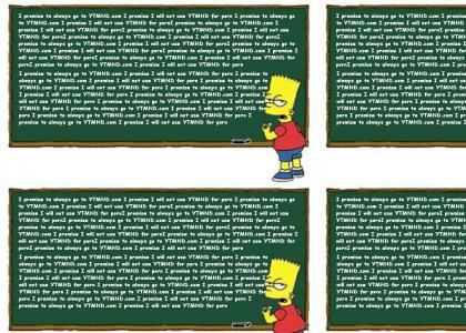 Bart Simpsons loves YTMND