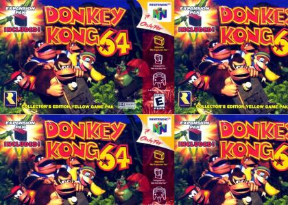 Ahhh Donkey Kong 64