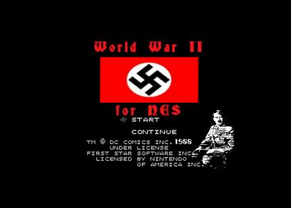 OMG Secret Nazi NES Game