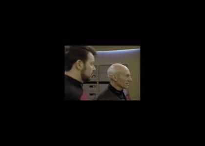 Captain Picard meets Captain Johnson