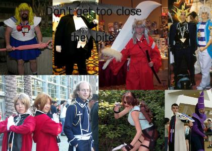 Cosplayers are taking over the world!