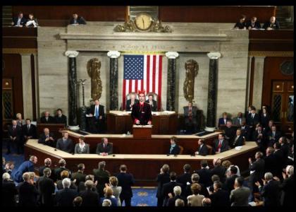 Jimmy Urine Adresses Congress