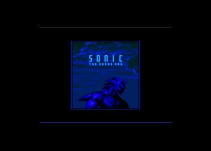 Sonic CD hidden image
