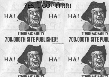 700000th Site!!!!!