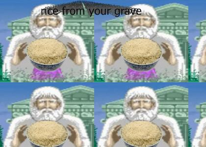 Rice From Your Grave