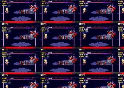 Boss Fight, Sonic 3