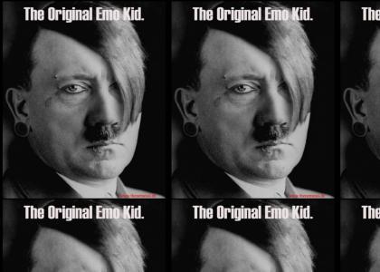 Hitler is EMO!
