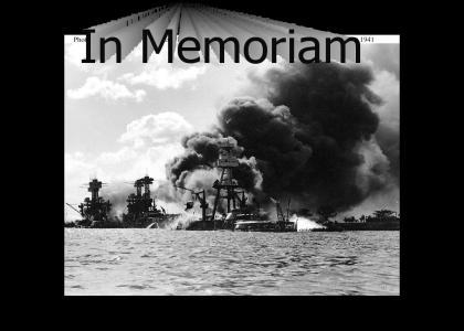 December 7, 1941:  In Memoriam
