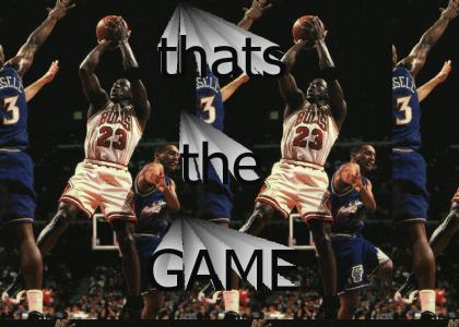 Michael Jordan Does It Again...