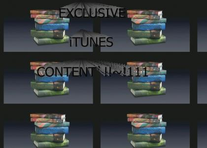 Exclusive iTunes Content! (REFRESH/RELOAD)