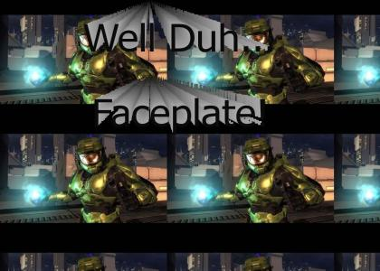 Master Chief Doesn't Change Facial Expresions