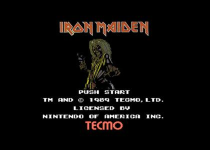 Iron Maiden for NES re-release