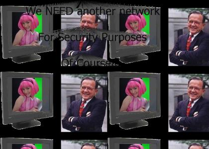 Ted Stevens Tells Us What the Internet is Really Used For