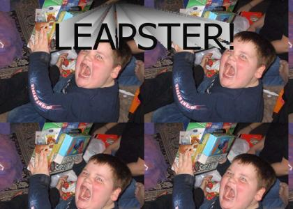 Leapster Kid Is Hardcore