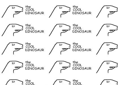 The Cool Dinosaur