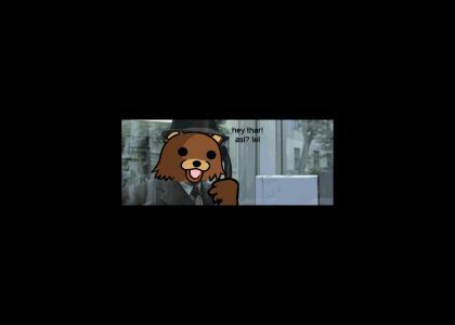 Pedobear has a close call with the FBI
