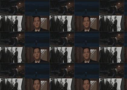 Tom Hanks has to pee