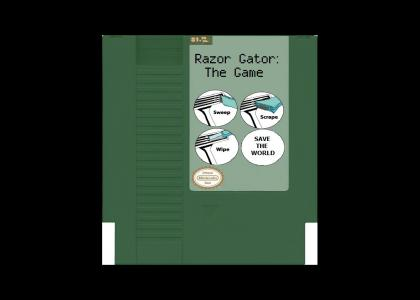 Razor Gator NES Cartridge