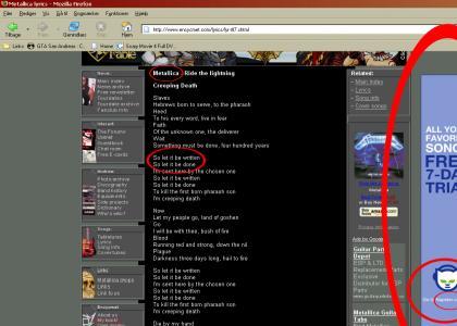 Wtf Metallica + Napster =?
