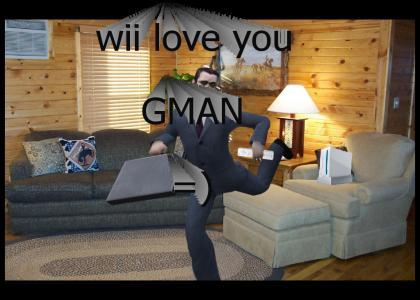 wii love you gman