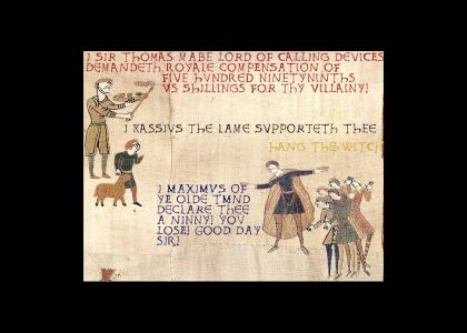 Medieval Ye OldeTMND Showdown