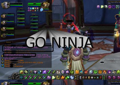 World of Warcraft GM: GO NINJA.