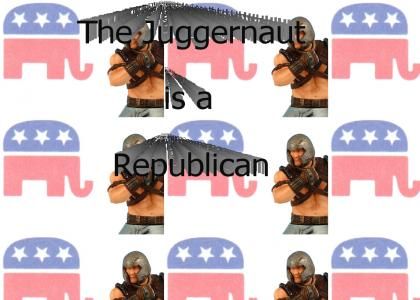 The Juggernaut is a Republican!