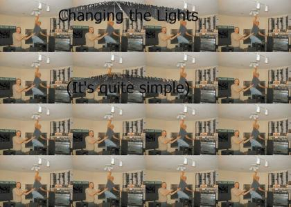 Changing The Lights
