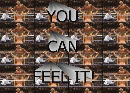 Ultimate Warrior & Hulk Hogan - You Can Feel It!