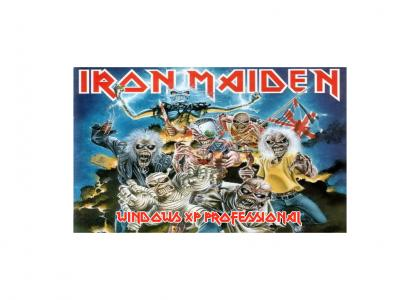 Iron Maiden XP MSN Messenger Remix