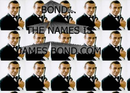 BOND...THE NAME IS JAMES BOND.com