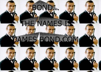BOND...THE NAME IS JAMES BOND.com