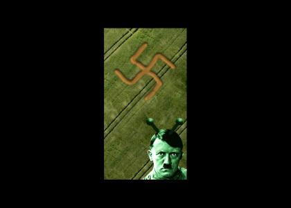 OMG, Secret Nazi Crop Circle!!!