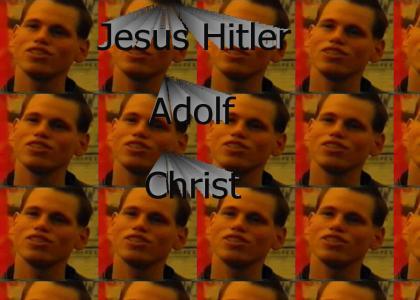 Jesus Hitler Adolf Christ