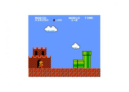 Not all Super Mario pipes have broadband...